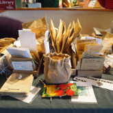 Heritage Seed Library seed swap